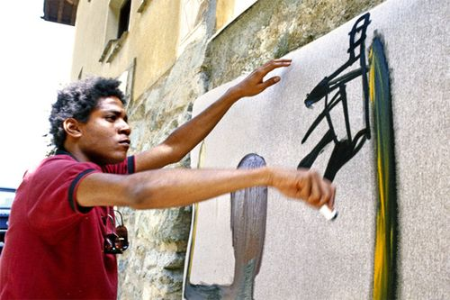 Basquiat-drawing