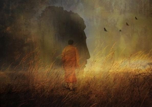 Walking-buddha