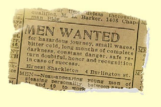 Shackleton-men-wanted-ad