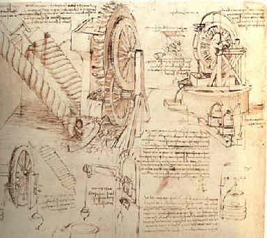 Leonardo-davinci-journal-page