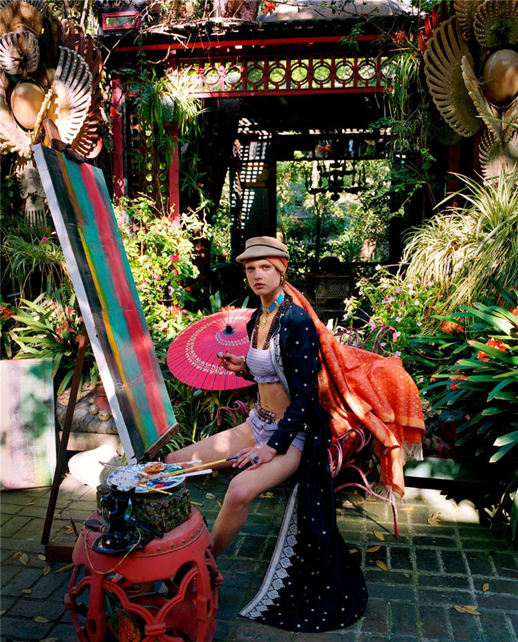 Steven-meisel-asian-painting