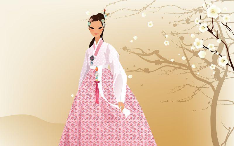 Plum-blossom-girl