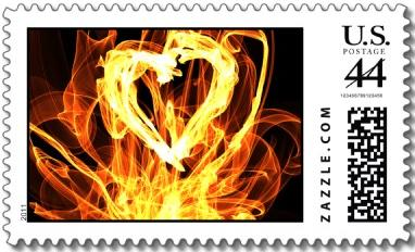 Heart-fire-stamp