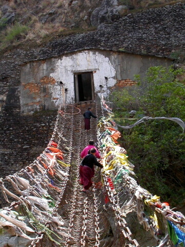 Iron-chain-bridge-bhutan