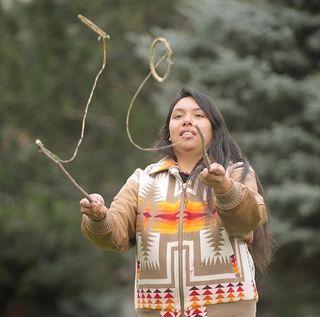Hoop-game-native-american