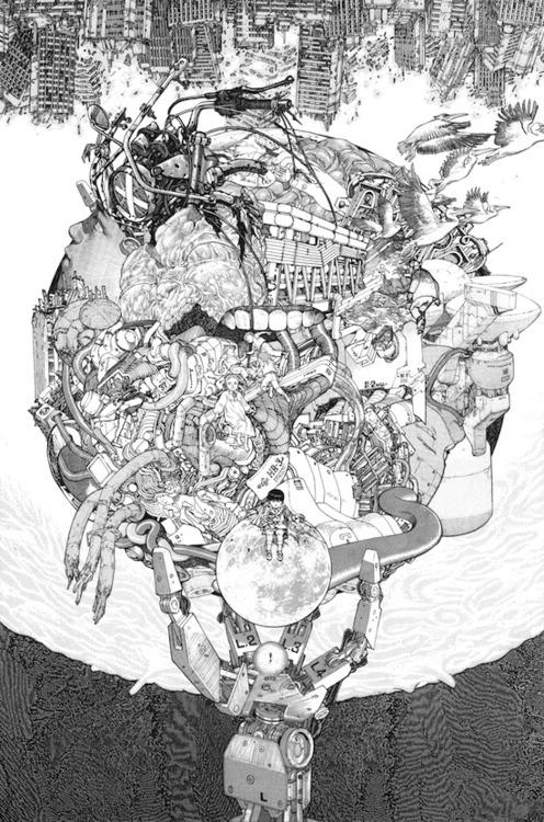 Illustration-katsuhiro-otomo