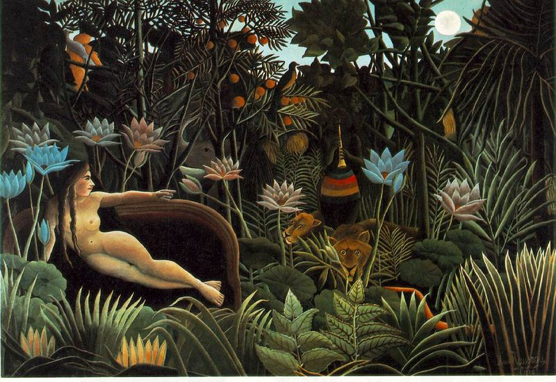 Rousseau-the-dream