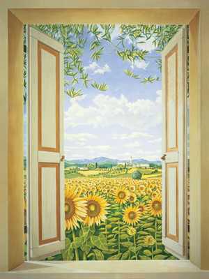 Sunflowerdoor