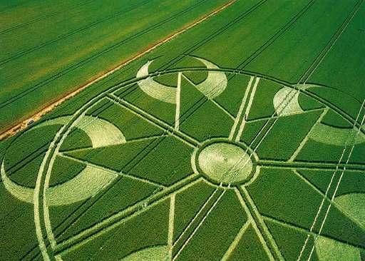 Pentagramcropcircle