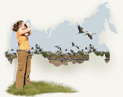 Womanbirdwatching
