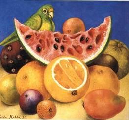 Parrotandfruit_1