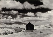 White_barn_and_clouds_5